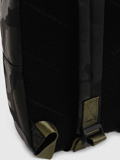 Diesel - BOLD BACKPACK, Black/Green - Bags - Image 4