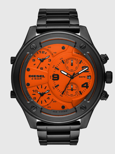 Diesel - DZ7432, Black/Orange - Timeframes - Image 1