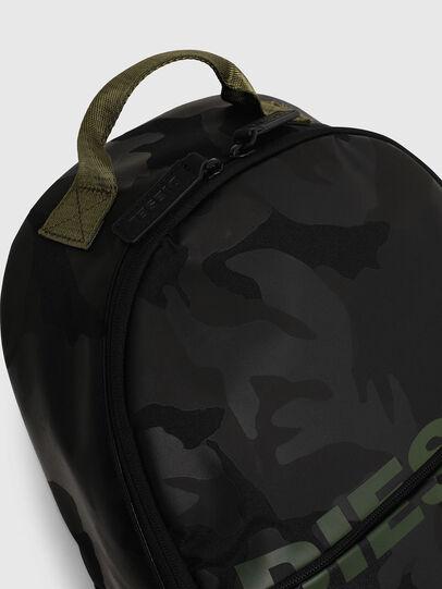 Diesel - BOLD BACKPACK, Black/Green - Bags - Image 5