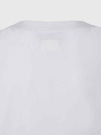 Diesel - T-RASSEL, White - T-Shirts - Image 4
