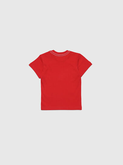 Diesel - TOQUEB MC, Red - T-shirts and Tops - Image 2