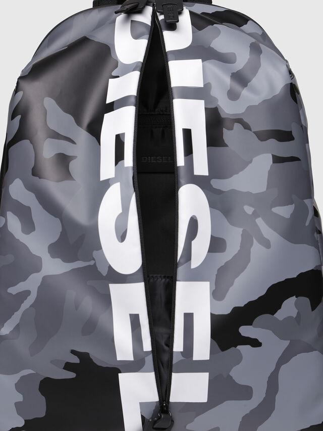 Diesel - F-BOLD BACK, Grey - Backpacks - Image 4