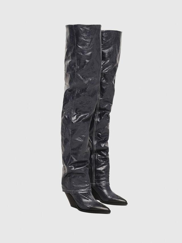 Diesel - D-WEST OTK, Blue Jeans - Boots - Image 2