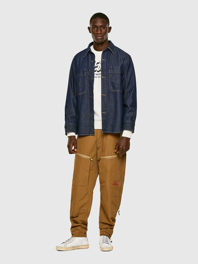 Diesel - P-AMBRIDGE, Brown - Pants - Image 6