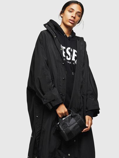 Diesel - F-BOLD MINI, Black - Satchels and Handbags - Image 6