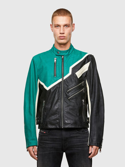 Diesel - L-PARKS,  - Leather jackets - Image 1