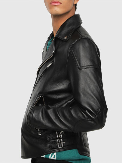 Diesel - L-KRAMPIS,  - Leather jackets - Image 4