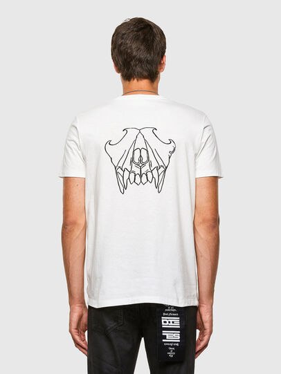 Diesel - T-INY, White - T-Shirts - Image 2