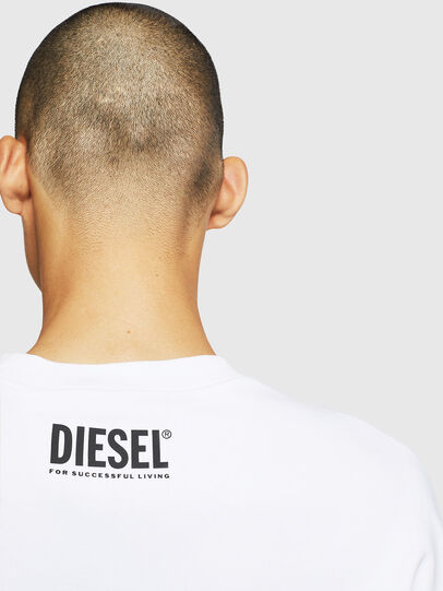 Diesel - S-BAY-BX4, White - Sweaters - Image 6