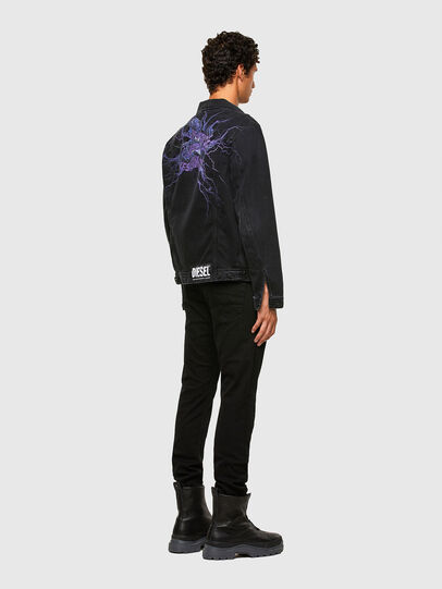 Diesel - NHILL-SP4, Black - Denim Jackets - Image 6