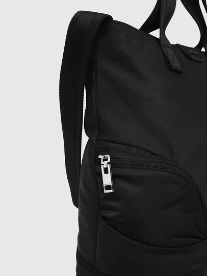 Diesel - MINNERAMA, Black - Shopping and Shoulder Bags - Image 4