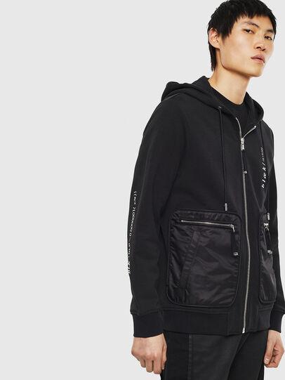 Diesel - S-SKRA, Black - Sweaters - Image 4