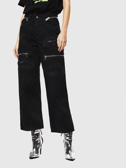 Diesel - Widee 069JA, Black/Dark grey - Jeans - Image 1