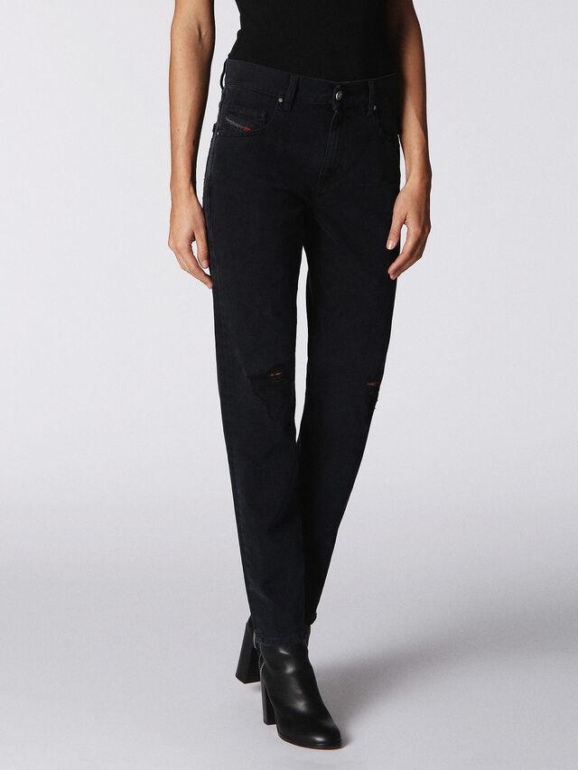NEEKHOL 084PM, Black Jeans