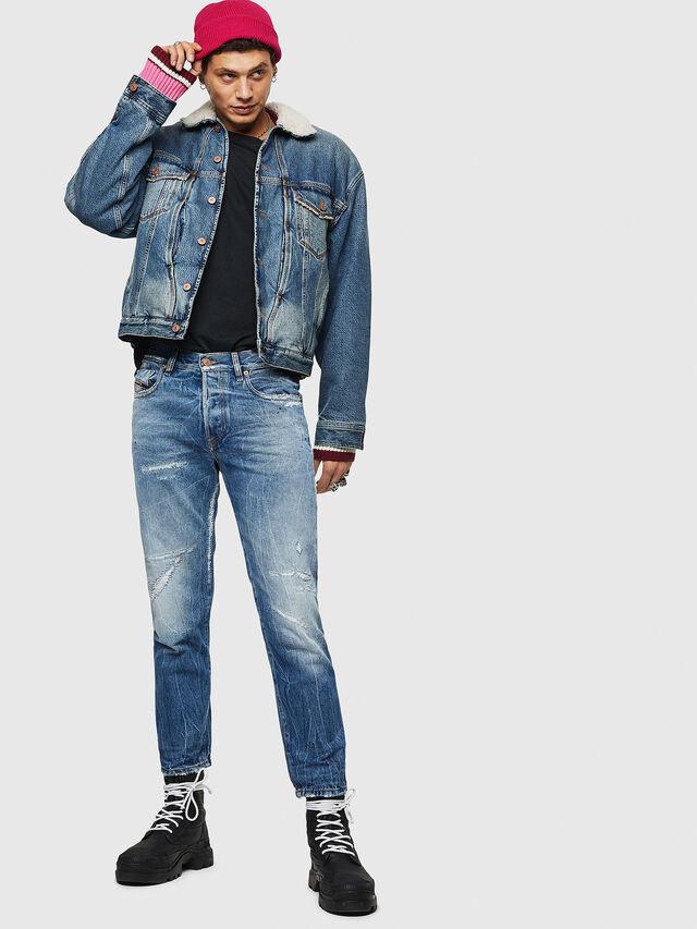 Diesel - Mharky 0078B, Dark Blue - Jeans - Image 6