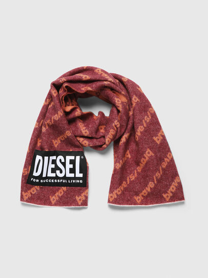 Diesel - SUBRE, Red - Scarf - Image 2