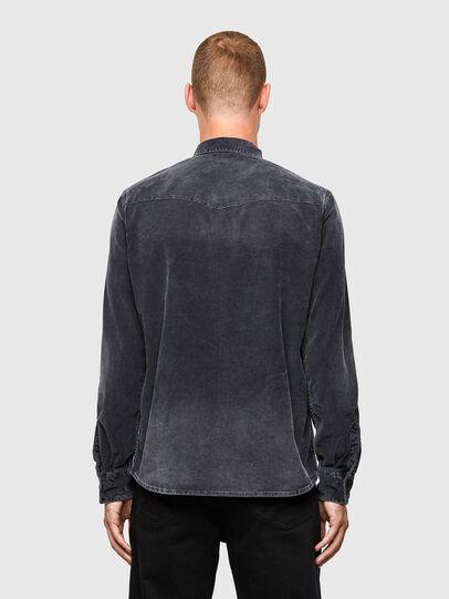 Diesel - S-EAST-LONG-VE, Black - Shirts - Image 2