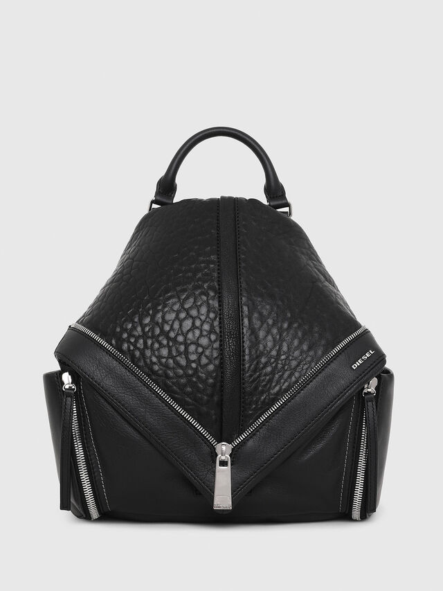 Diesel LE-MHONIC, Black - Backpacks - Image 1