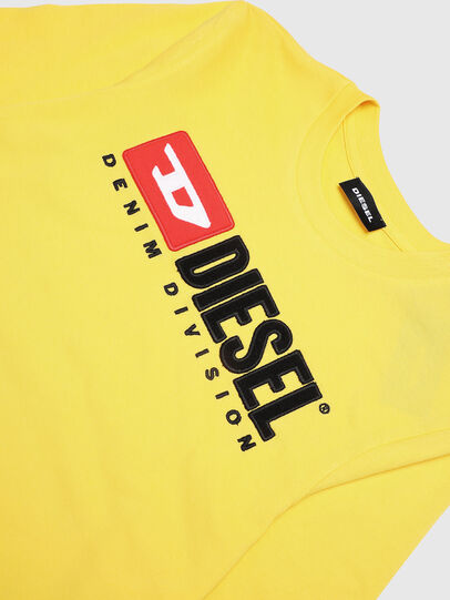 Diesel - TJUSTDIVISION ML, Yellow - T-shirts and Tops - Image 3