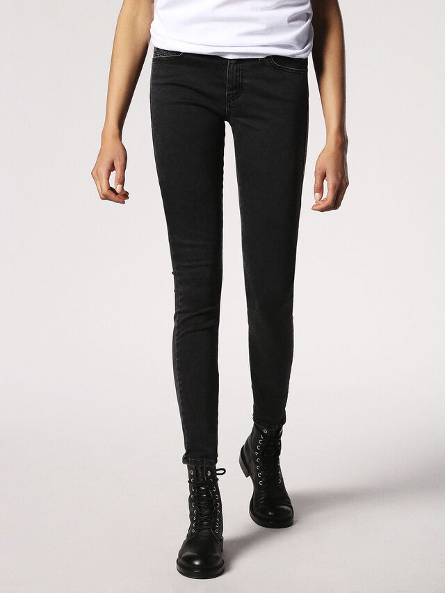 SLANDY 0680I, Black Jeans