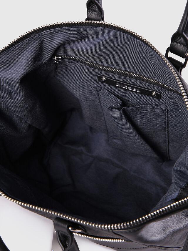 Diesel - LE-NINNA, Black - Shopping and Shoulder Bags - Image 6