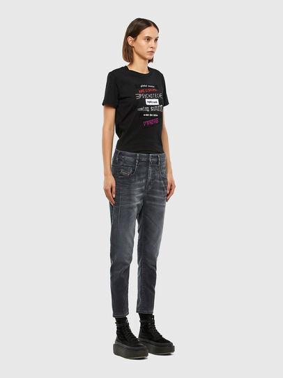 Diesel - FAYZA JoggJeans® 069QA, Black/Dark grey - Jeans - Image 7