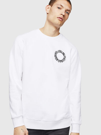 Diesel - S-GIR-A3, White - Sweaters - Image 1