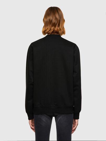 Diesel - F-ANG-K17, Black - Sweaters - Image 2
