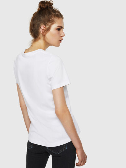 Diesel - T-SILY-ZF, White - T-Shirts - Image 2