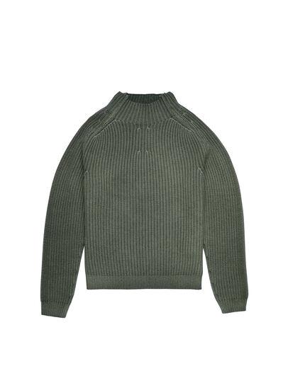 Diesel - K-CLEVELAND, Military Green - Knitwear - Image 5