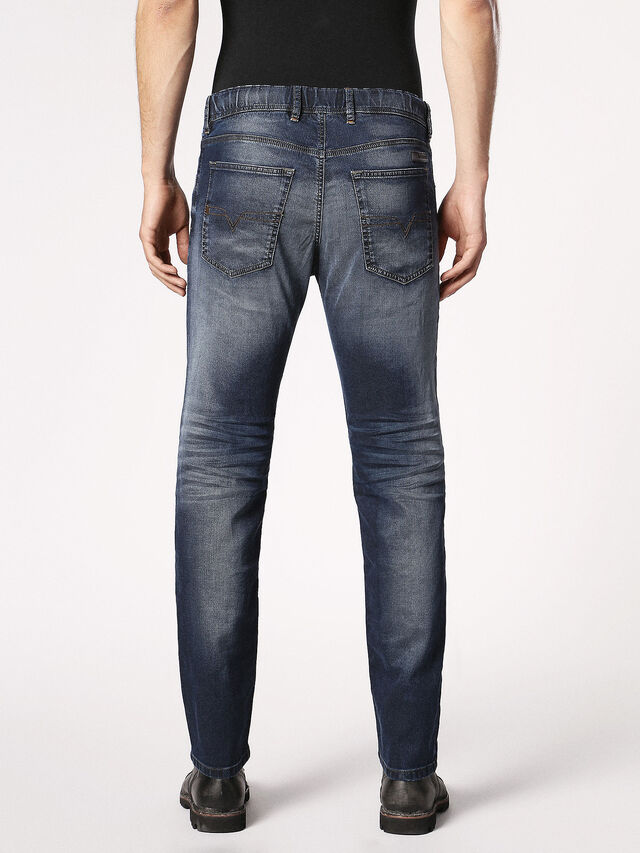 Diesel - Waykee JoggJeans 0683Y, Dark Blue - Jeans - Image 3