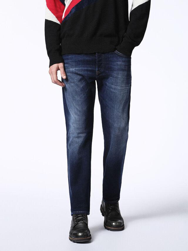 Diesel - Buster 0860L, Dark Blue - Jeans - Image 1