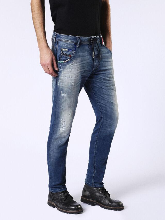 Diesel - Krooley JoggJeans 0680Y, Medium blue - Jeans - Image 6