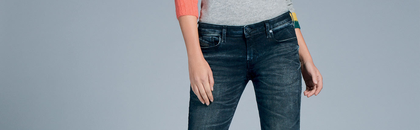 Jegging Denim Woman Diesel