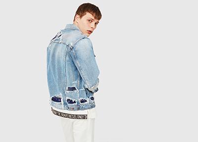 Diesel Sale Man: Jeans, Apparel, Jackets, Winter Jackets, Pants, Knitwear, Sweatshirts up to 50% off