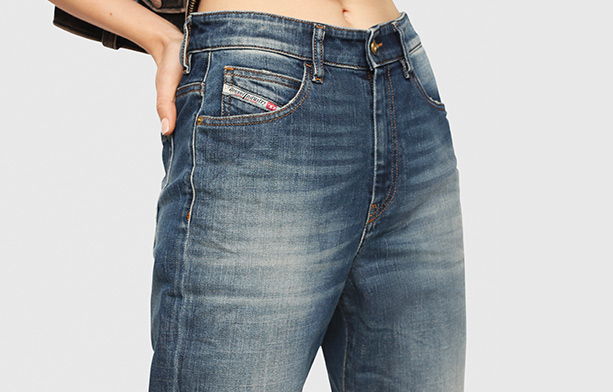D-Eiselle Straight Jeans Woman