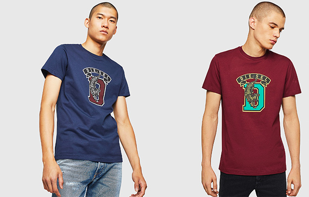 View all man T-shirts on sale