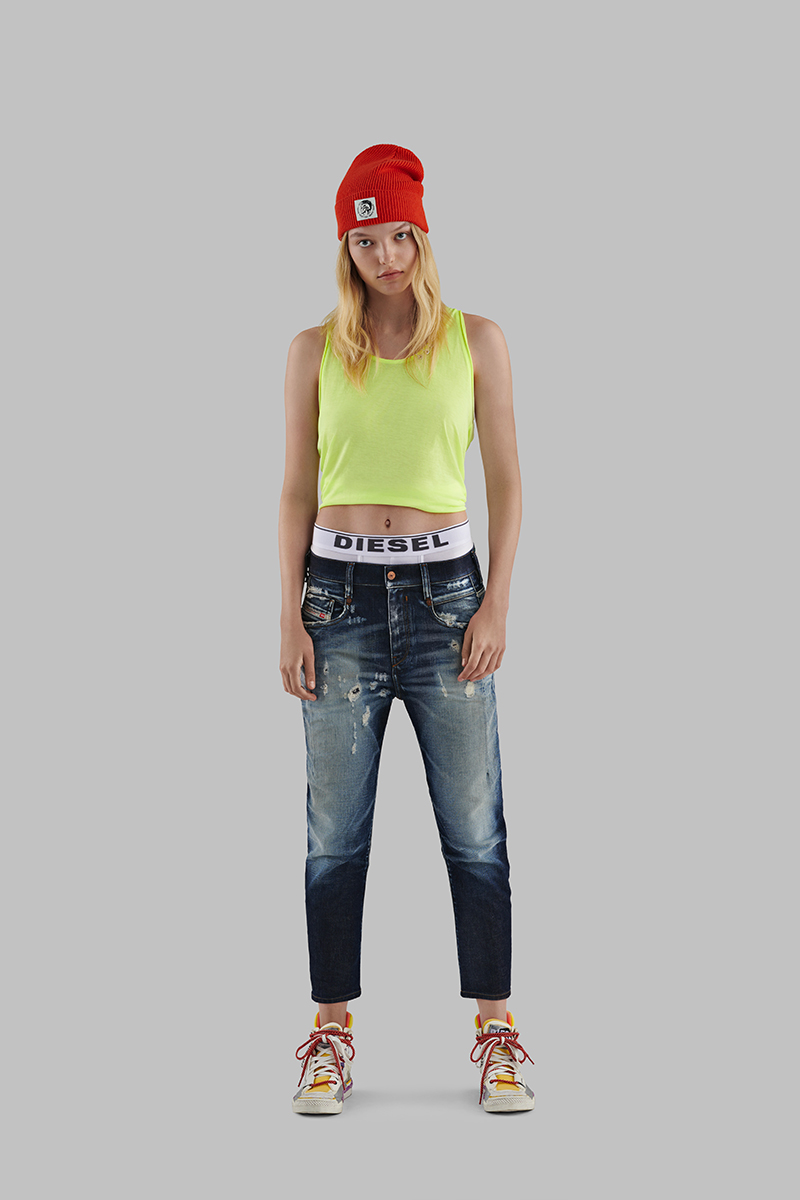 Diesel Boyfriend Jeans Woman