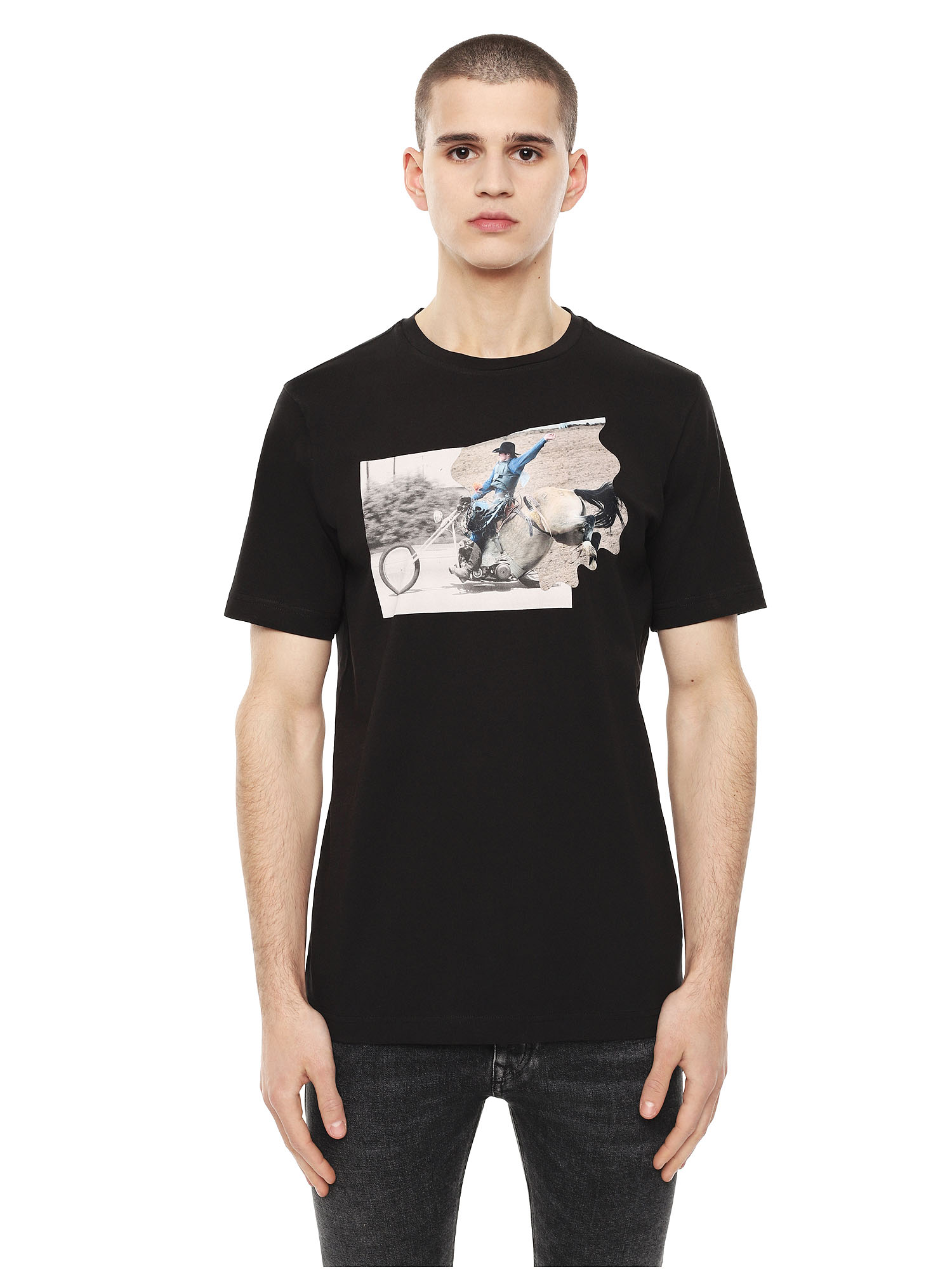 Diesel - TY-CHOPPER,  - T-Shirts - Image 1