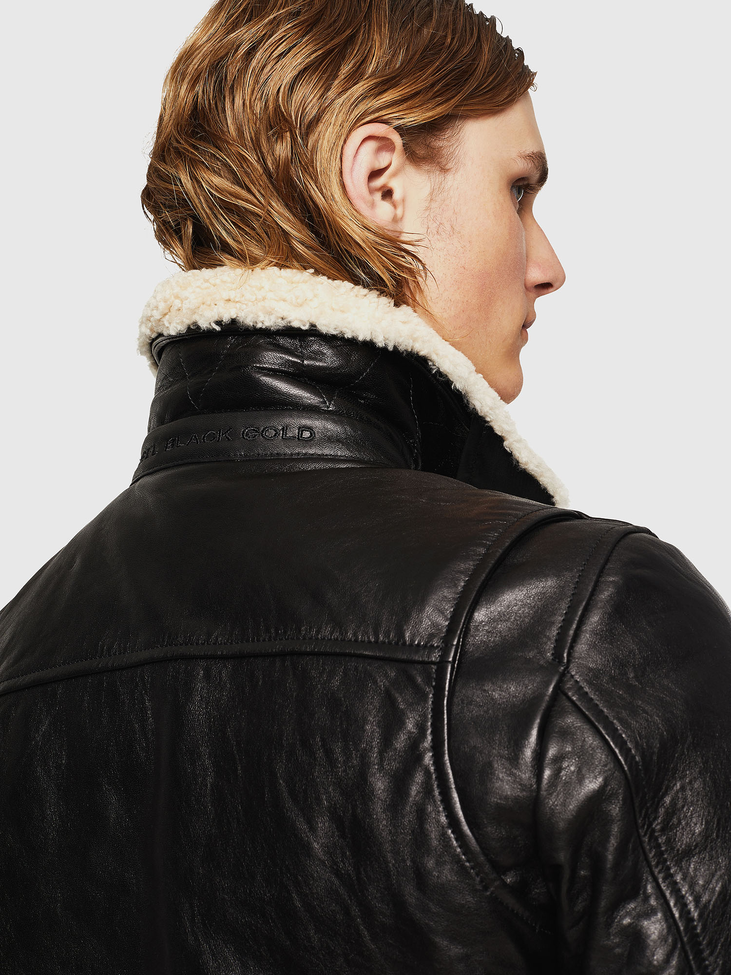 Diesel - L-VINT,  - Leather jackets - Image 5