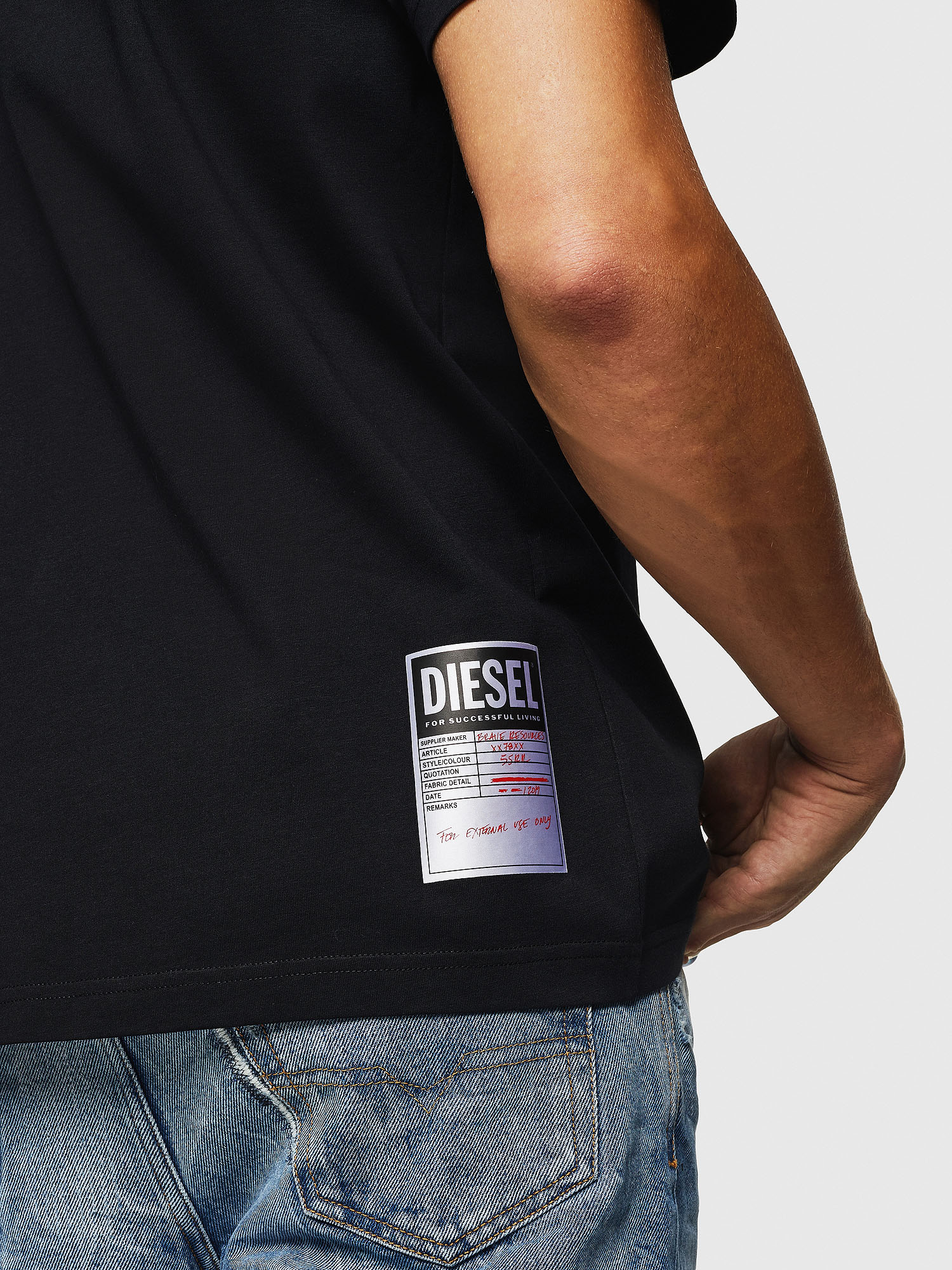 Diesel - T-JUST-B26,  - T-Shirts - Image 3