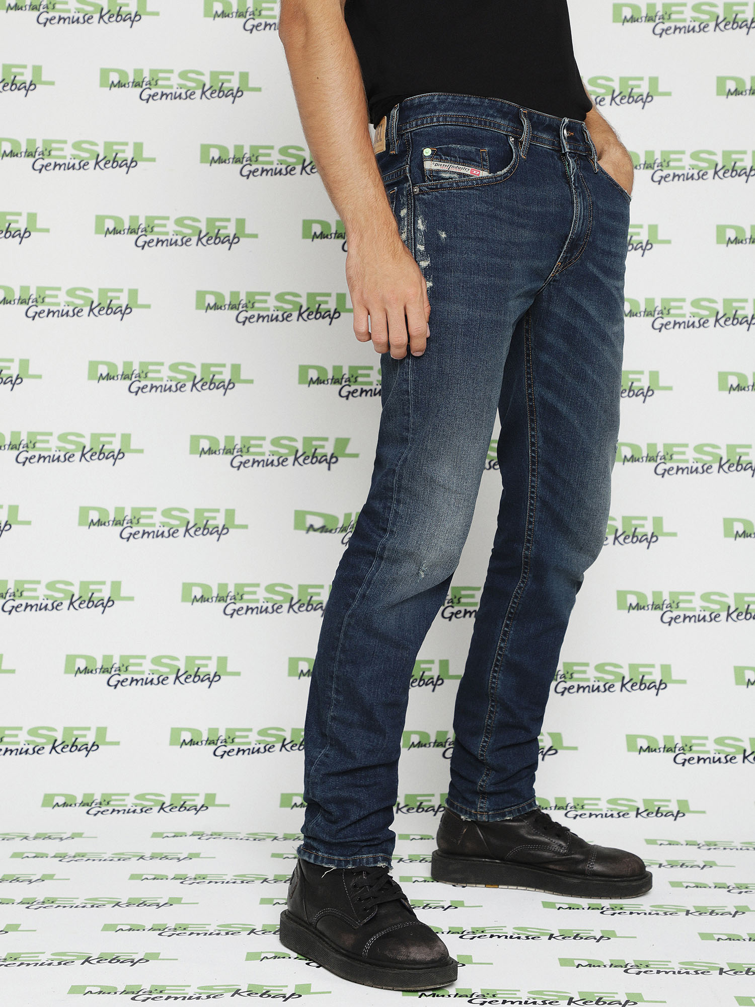 Diesel - Thommer 082AI,  - Jeans - Image 5
