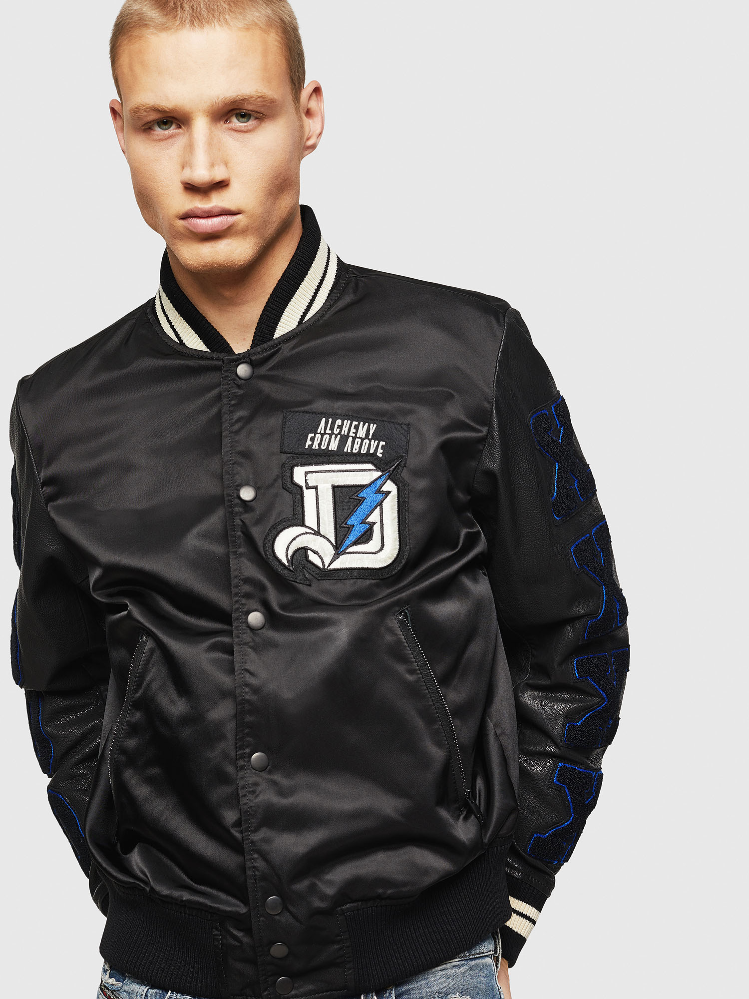 Diesel - L-KHARKOV,  - Leather jackets - Image 1