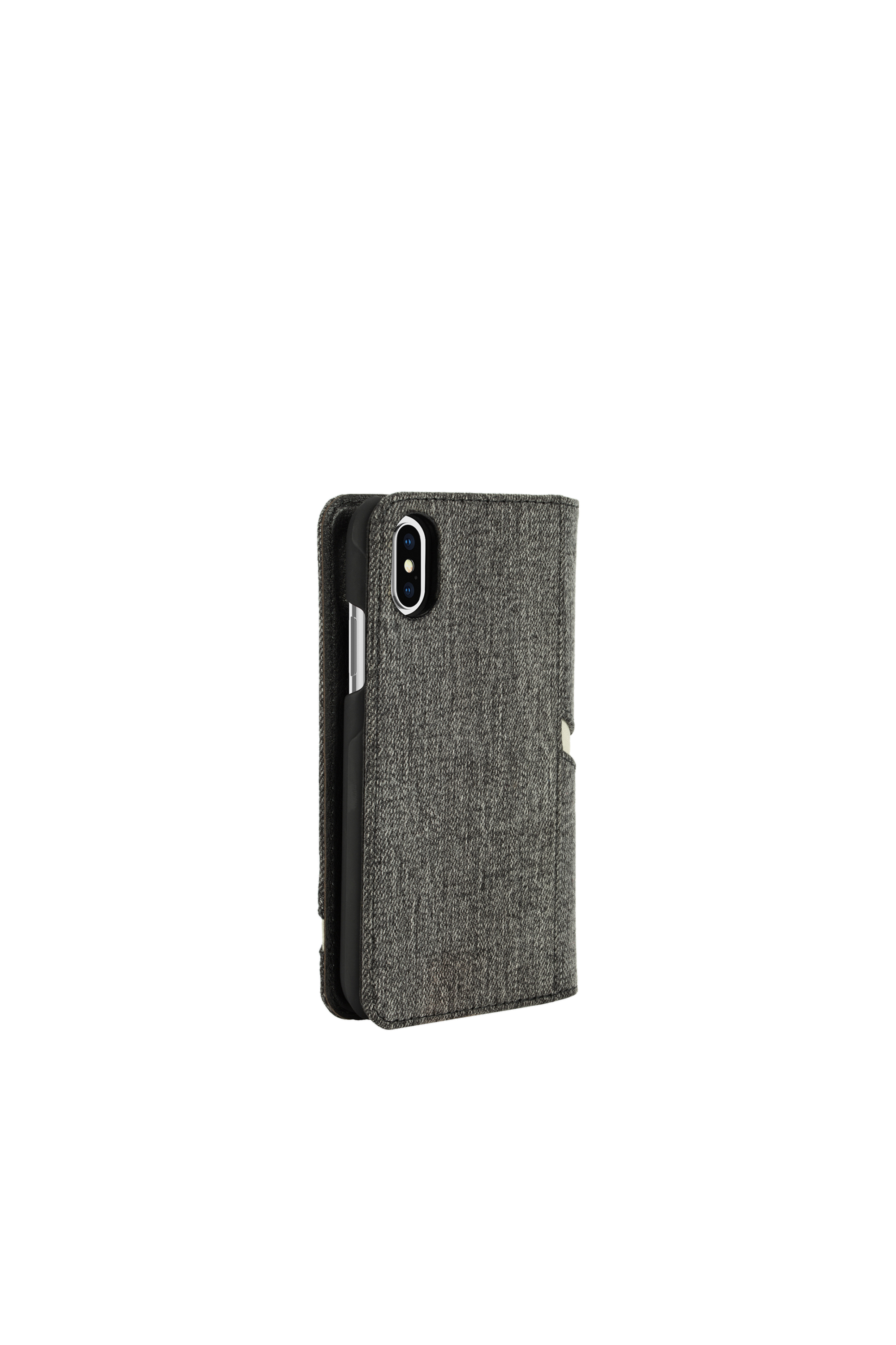Diesel - DIESEL 2-IN-1 FOLIO CASE FOR IPHONE XS & IPHONE X,  - Flip covers - Image 4