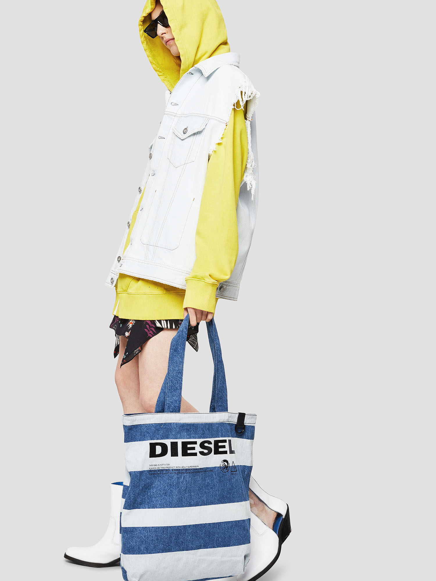Diesel - F-THISBAG SHOPPER NS,  - Shopping and Shoulder Bags - Image 5