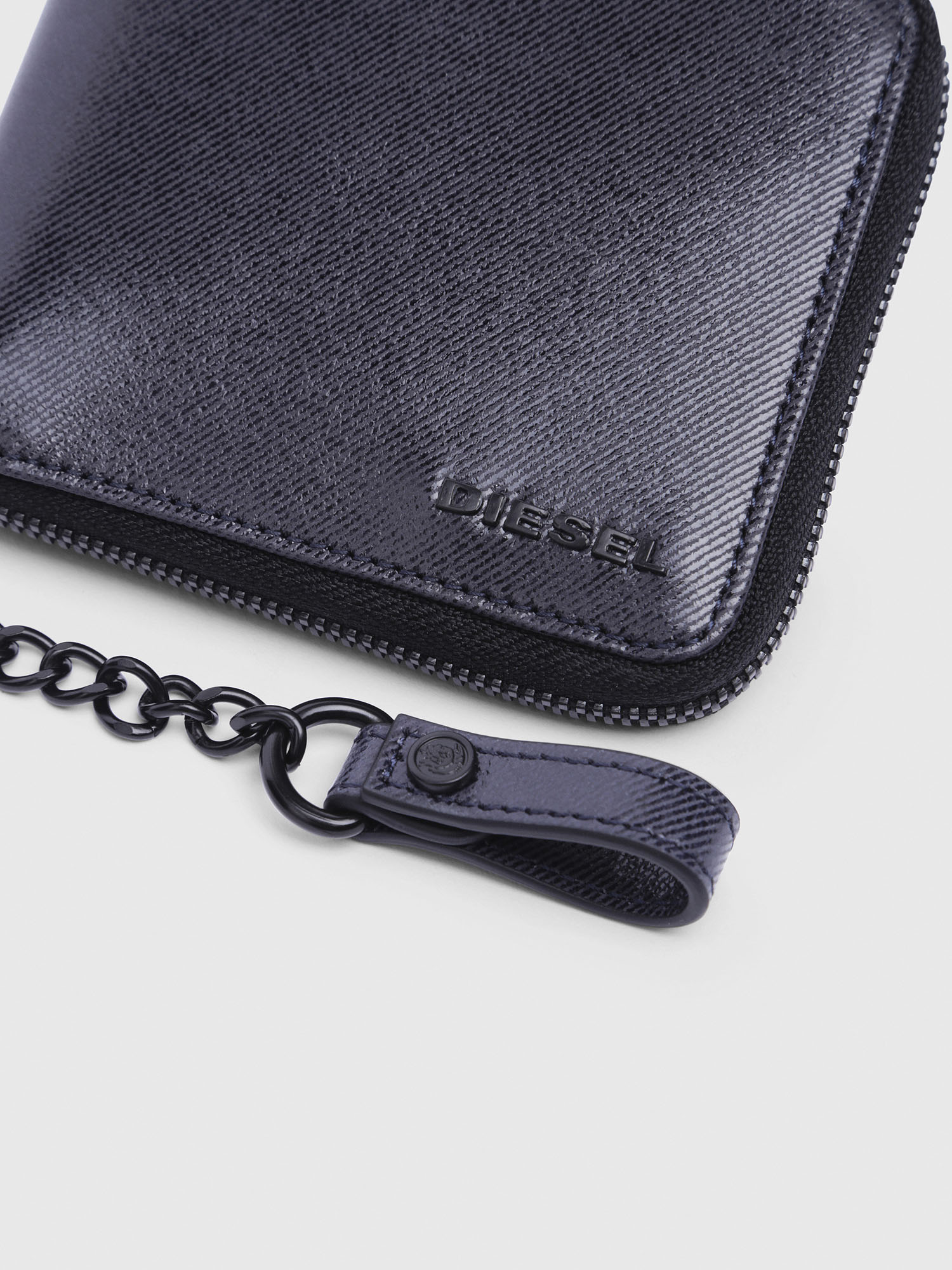 Diesel - ZIPPY HIRESH S WITH,  - Zip-Round Wallets - Image 3