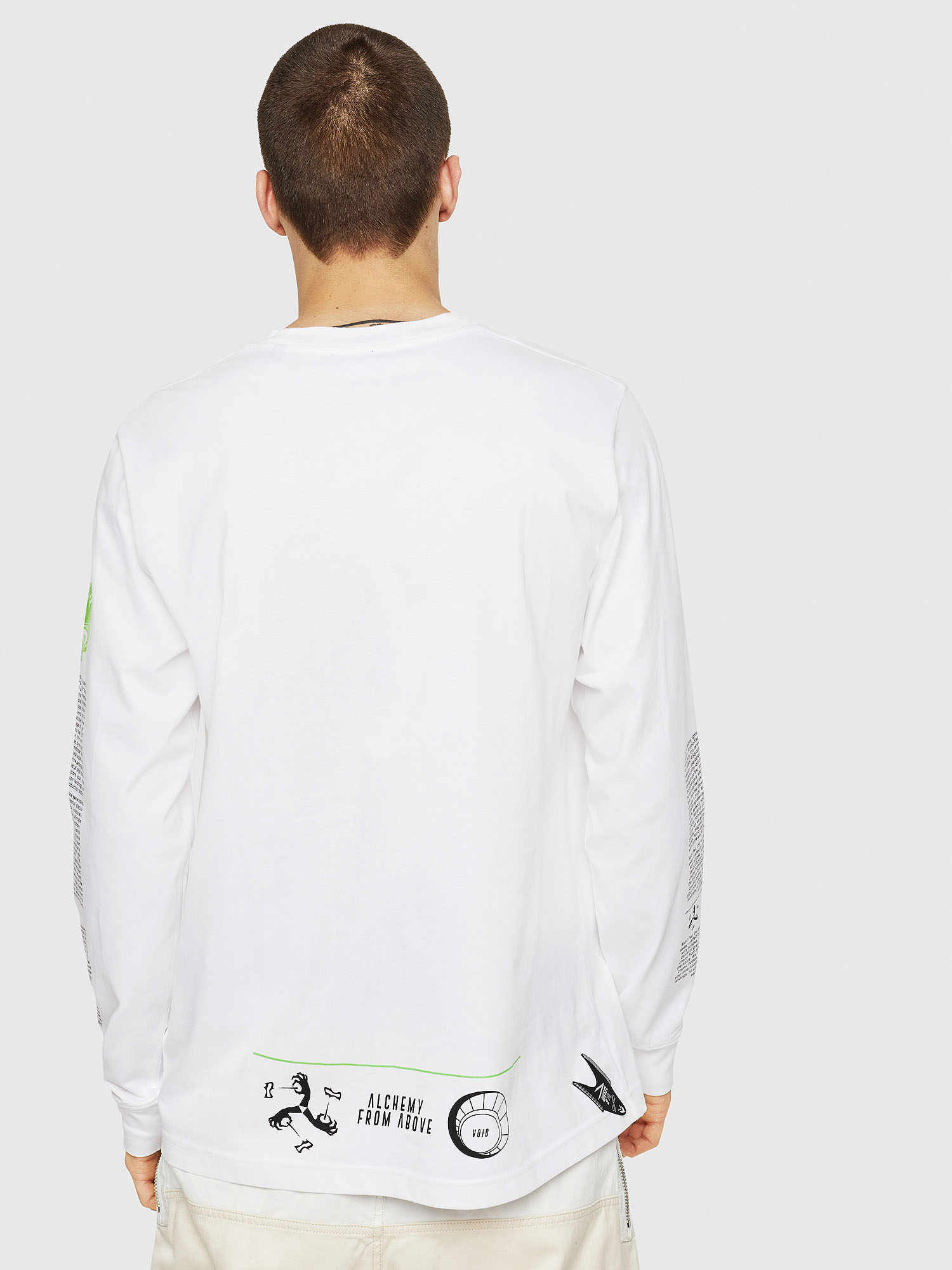 Diesel - T-JUST-LS-NEW,  - T-Shirts - Image 2