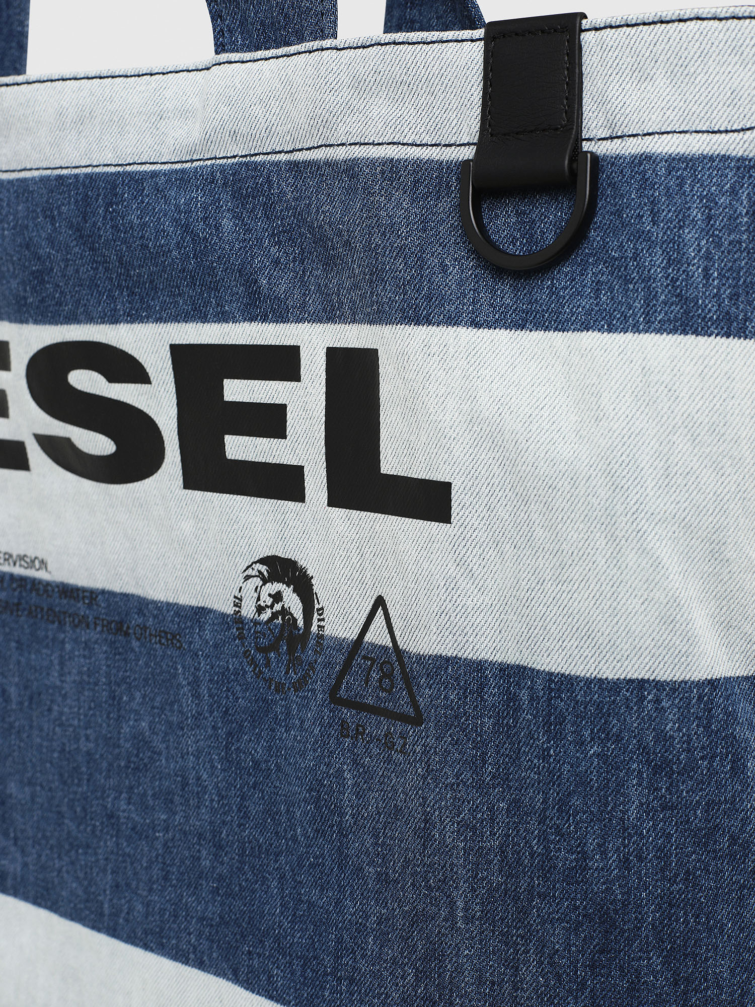 Diesel - F-THISBAG SHOPPER NS,  - Shopping and Shoulder Bags - Image 4