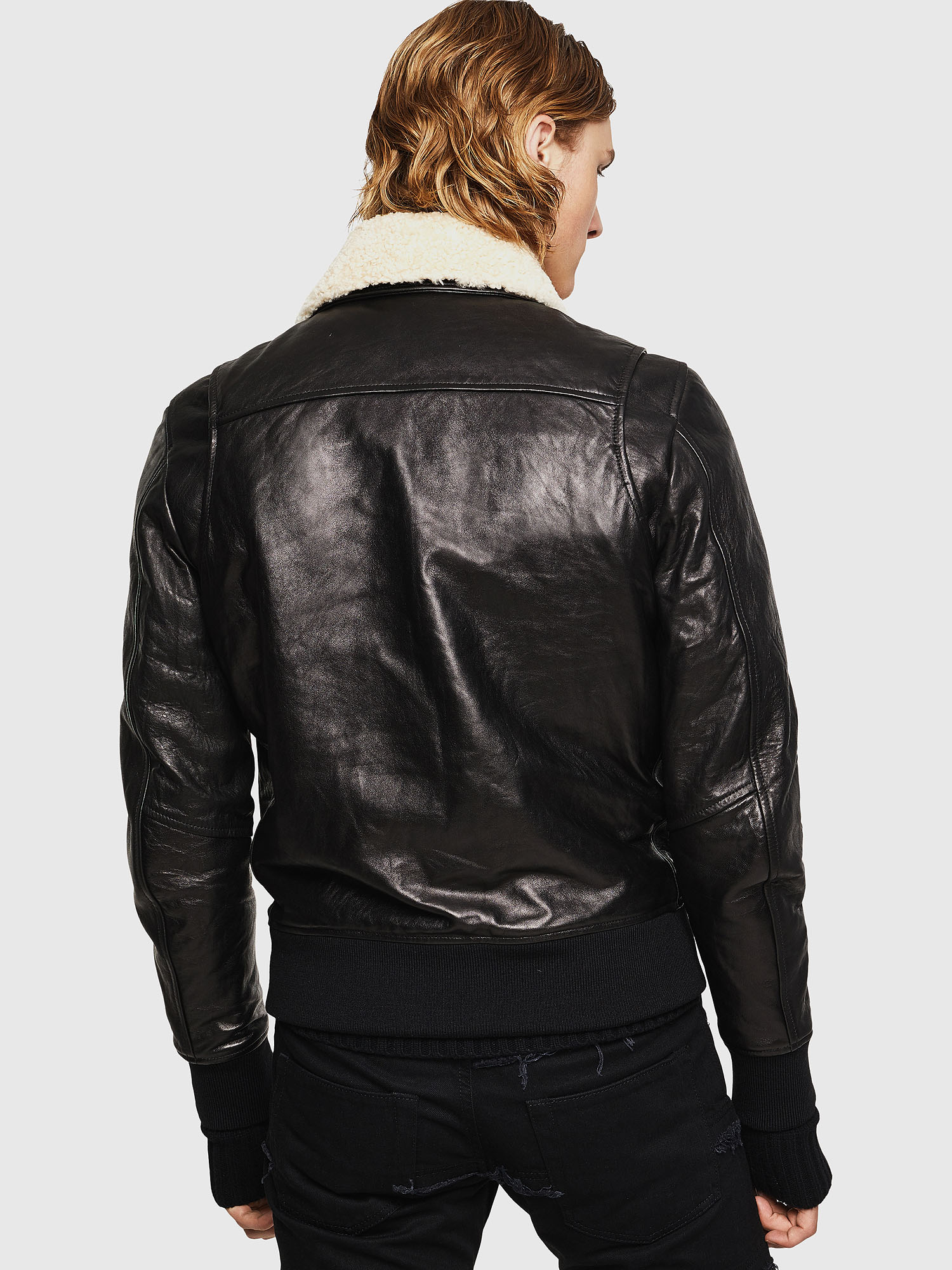 Diesel - L-VINT,  - Leather jackets - Image 2