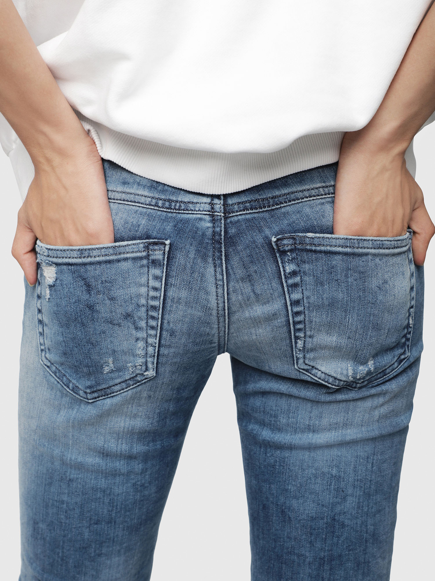 Diesel - Gracey JoggJeans 080AS,  - Jeans - Image 3
